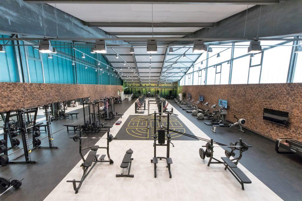 Übersicht Fitnessstudio im ALTERNATE Sportpark Linden