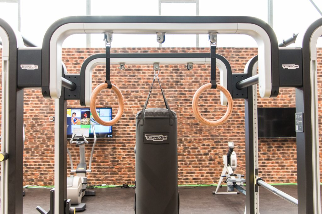Omnia-Tower im Fitnessstudio des ALTERNATE Sportparks Linden
