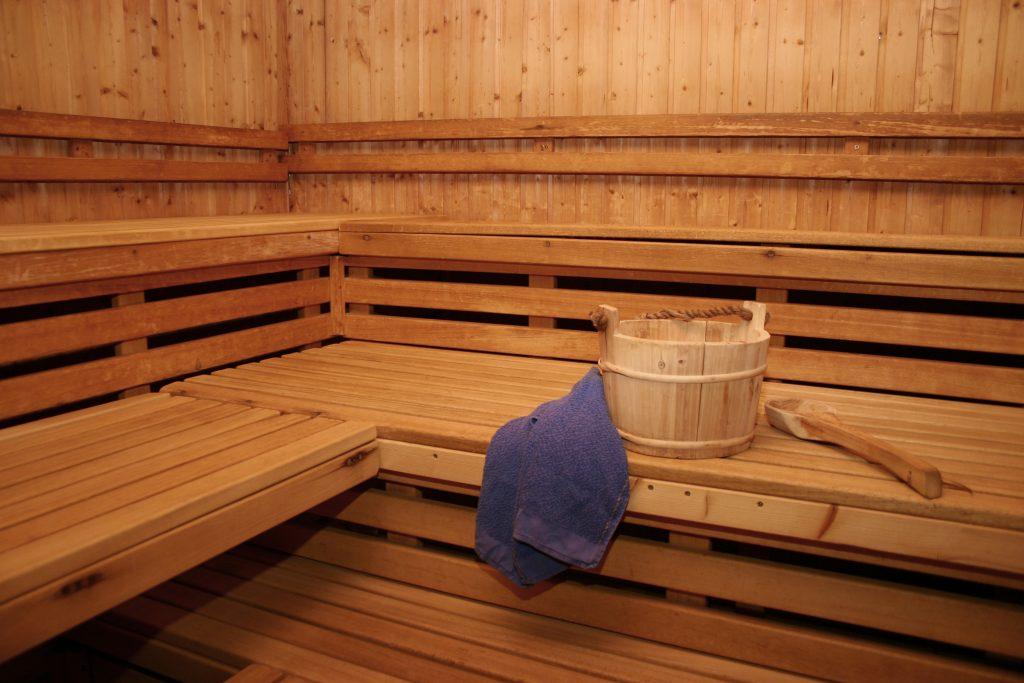 Sauna im Alternate Sportpark Linden