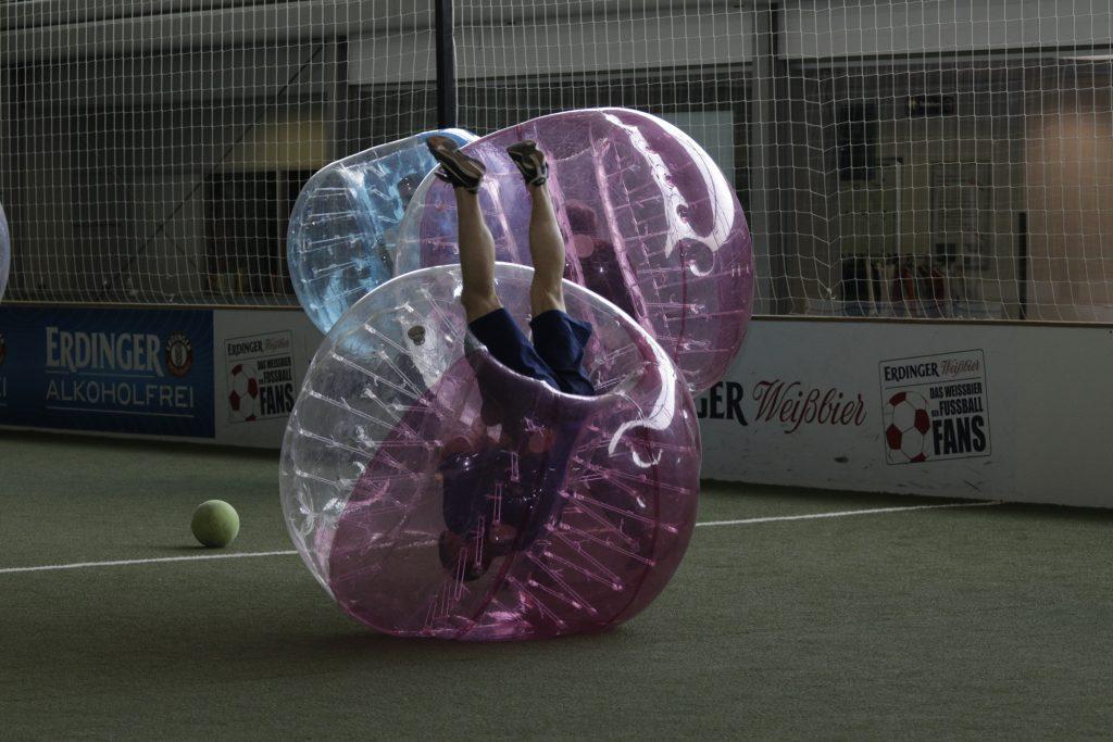 Bubble Fußball im Alternate Sportpark Linden