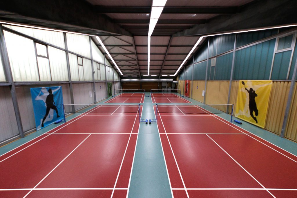 Badminton im Alternate Sportpark Linden