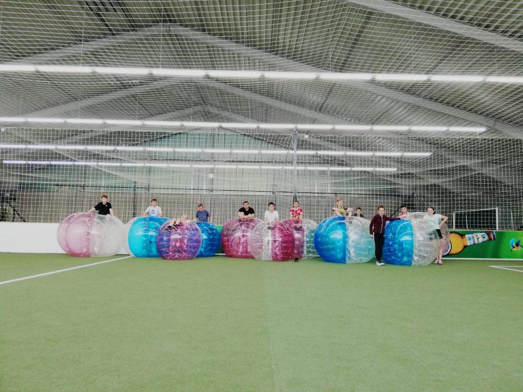 Bubble-Soccer im Sportpark Linden